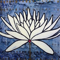 indigo lotus, by sarah kinn